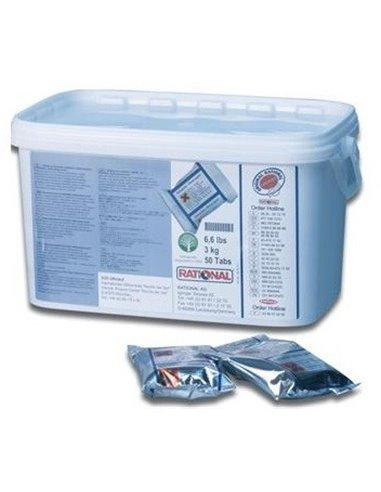 Tabletki do płukania pieca 50 sztuk bez CareControl | RATIONAL