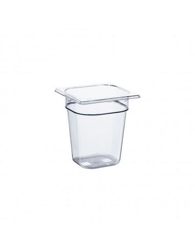 Pojemnik z poliwęglanu, GN 1/6, H 200 mm | Stalgast 146201
