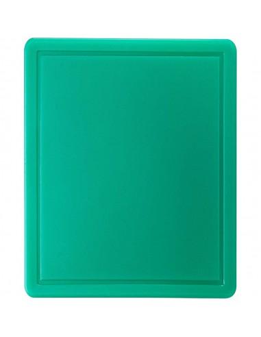 Deska do krojenia, zielona, HACCP, GN 1/2 | Stalgast 341322
