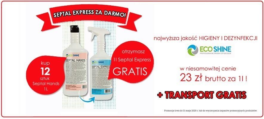 ZESTAW: 12x Septal Hands 1l +Septal Express GRATIS